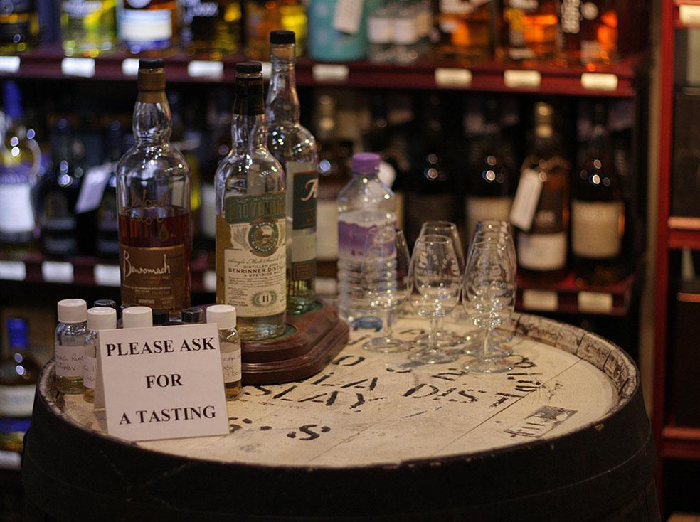 Whisky Tasting - Barrel