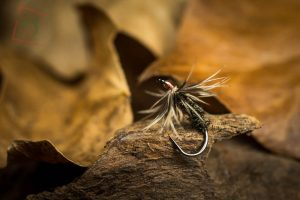 A traditional tenkara wet fly.