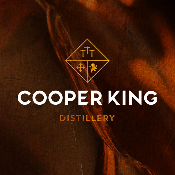 Cooper King Distillery Logo