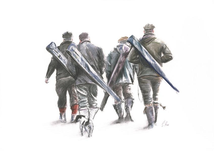 Guns Walking